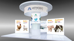 Fiera Eurotier Hannover - Progetto grafico stand Methodo Chemicals