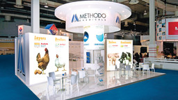 Fiera Eurotier Hannover - Esecuzione progetto grafico stand Methodo Chemicals