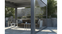 Rendering 3D - Design di un patio